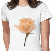 Salmon Rose Womens Fitted T-Shirt
