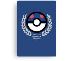 Greater Pokemon Trainer Canvas Print