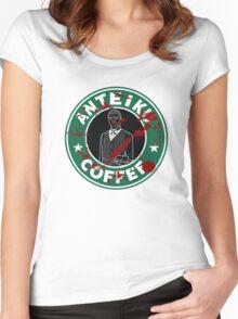 Anteiku Coffee Women's Fitted Scoop T-Shirt