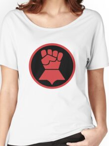 Crimson Fists Symbol Women's Relaxed Fit T-Shirt