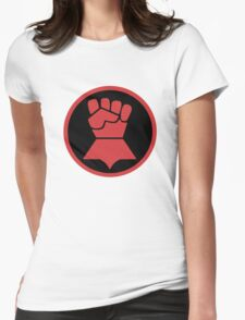 Crimson Fists Symbol Womens Fitted T-Shirt