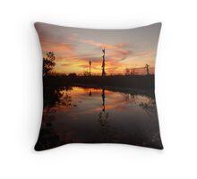 Sunset no. 8 Throw Pillow