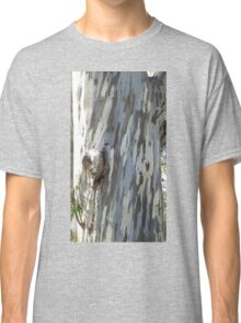 Gum tree 9: three trunks and a twisted knee. Classic T-Shirt