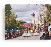 Disneyland's Soundsational Parade  Canvas Print