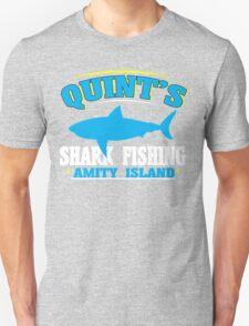 Quint's shark fishing amity island Funny Geek Nerd T-Shirt
