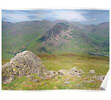 The Lake District: Yewbarrow Poster