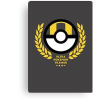 Ultra Pokemon Trainer Canvas Print