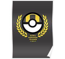 Ultra Pokemon Trainer Poster