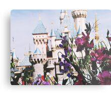 Disneyland In The SpringTime Metal Print