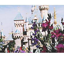 Disneyland In The SpringTime Photographic Print