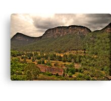 The Lost City - Glen Davis, Capertee Valley - The HDR Experience Canvas Print