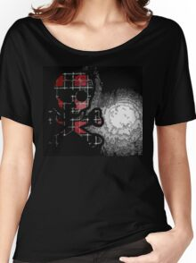 Plaid Skull Women's Relaxed Fit T-Shirt