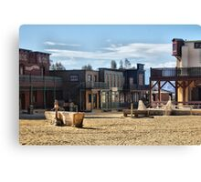 Spaghetti Westerns Canvas Print