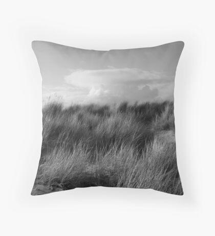 Dune Grass Throw Pillow