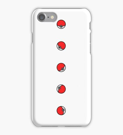 Pokemon Pokeballs iPhone Case/Skin