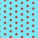 Pokeball pokemon bedspread quilt cover duvet by flashman