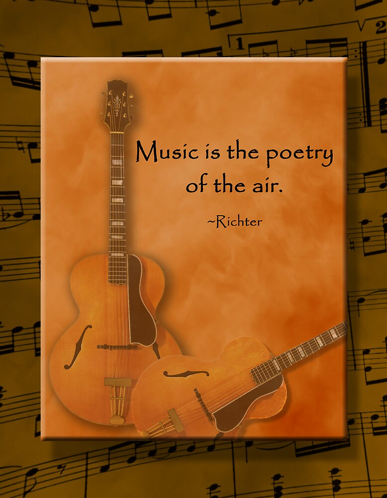 Music is Poetry by Trudy Wilkerson