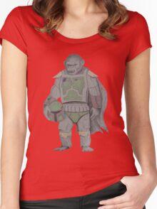 KOBA FETT/colour Women's Fitted Scoop T-Shirt
