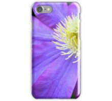 Vibrant Clematis iPhone Case/Skin
