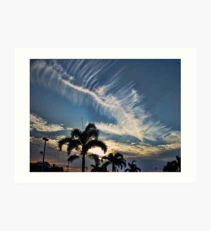 Boca Raton Sunset Art Print