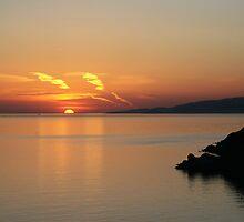 © Greek Sunset at Santorini by John44