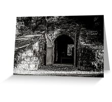 Dark Places Greeting Card