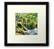 Just Water Framed Print