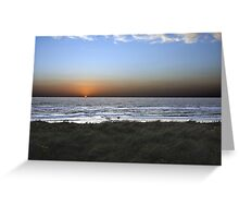 Dutch Sunset at The Hague © Greeting Card