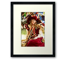 My Faire Lady Framed Print