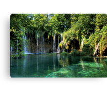 Lake-IN Canvas Print