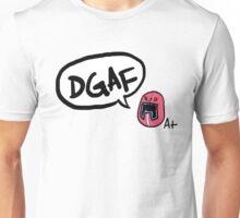Average Joe Sentai sez DGAF Unisex T-Shirt