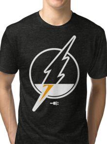 Running Low Funny Geek Nerd Tri-blend T-Shirt