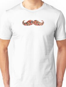 Candy Sprinkles Cookie Mustache Unisex T-Shirt