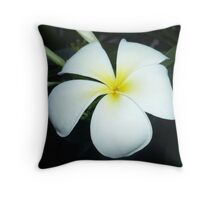 Nightly Bloom Throw Pillow