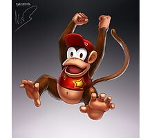 Diddy Kong Photographic Print