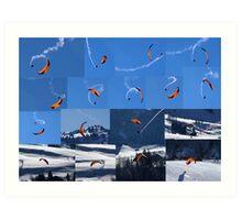 flying looney Art Print
