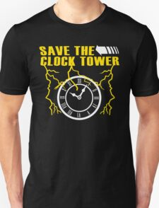 Save The Clock Tower Funny Geek Nerd T-Shirt