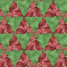 Triangular Tessellation (Green/Red) by shane22