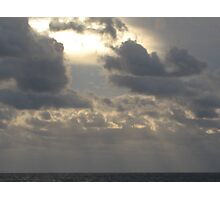 Penetrate the clouds Photographic Print