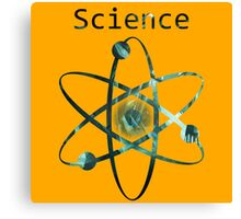 Science Funny Geek Nerd Canvas Print