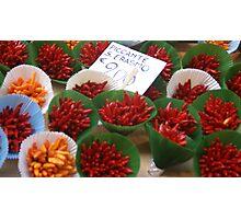 Chilli Bouquets Photographic Print