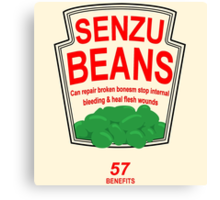 Senzu Beans Funny Geek Nerd Canvas Print