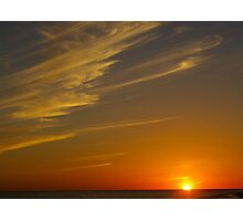 Sanibel Sunset Photographic Print