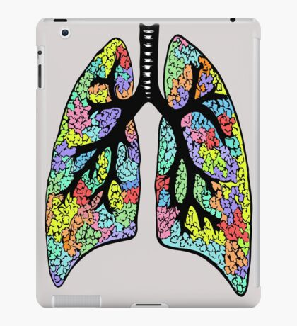 Psychedelic Lungs iPad Case/Skin