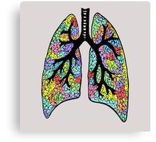 Psychedelic Lungs Canvas Print