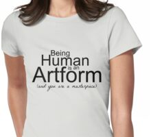 Being Human Womens Fitted T-Shirt