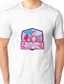 Rugby Player Fend Off England 2015 Low Polygon Unisex T-Shirt