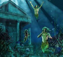 Remains of Atlantis by Lisa  Weber