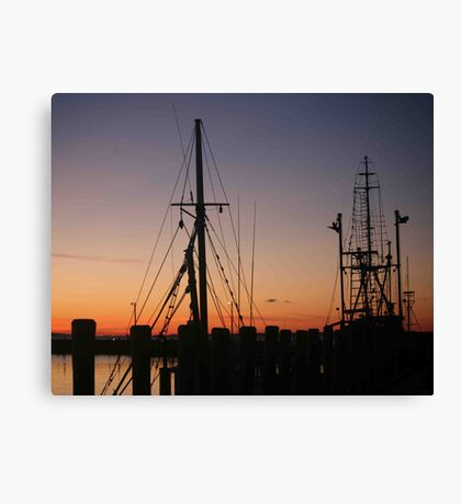 Menemsha Days' End Canvas Print