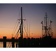 Menemsha Days' End Photographic Print